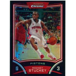 RODNEY STUCKEY 2008-09 BOWMAN CHROME REFRACTOR /499