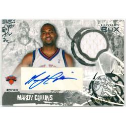 MARDY COLLINS 2007 LUXURY BOX ROOKIE JERSEY AUTO /249