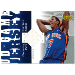 CHANNING FRYE 2006-07 UD GAME JERSEY