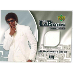 LEBRON JAMES 2006-07 UPPER DECK THE LEBRONS THREADS JERSEY