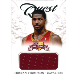 TRISTAN THOMPSON 2012-13 CRUSADE QUEST JERSEY