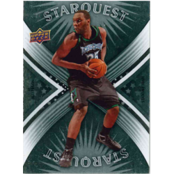AL JEFFERSON 2008-09 UPPER DECKSTARQUEST COMMON