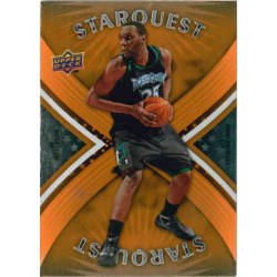 AL JEFFERSON 2008-09 UPPER DECKSTARQUEST UN-COMMON