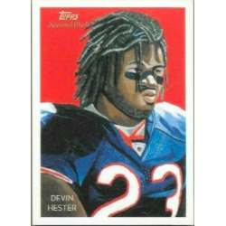 DEVIN HESTER 2009 TOPPS NATIONAL CHICLE