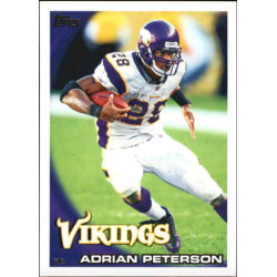 ADRIAN PETERSON 2010 TOPPS