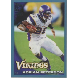 ADRIAN PETERSON 2010 TOPPS BLUE /349