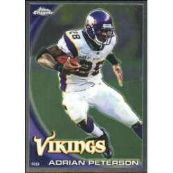 ADRIAN PETERSON 2010 TOPPS CHROME