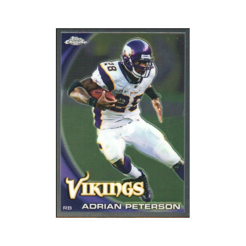 ADRIAN PETERSON 2010 TOPPS CHROME