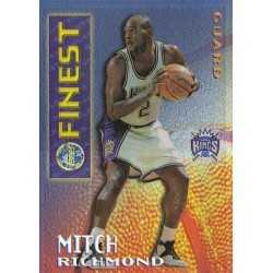 MITCH RICHMOND 1995 TOPPS FINEST MYSTERY BORDERLESS REFRACTOR GOLD M17
