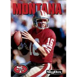 JOE MONTANA 1992 SKYBOX