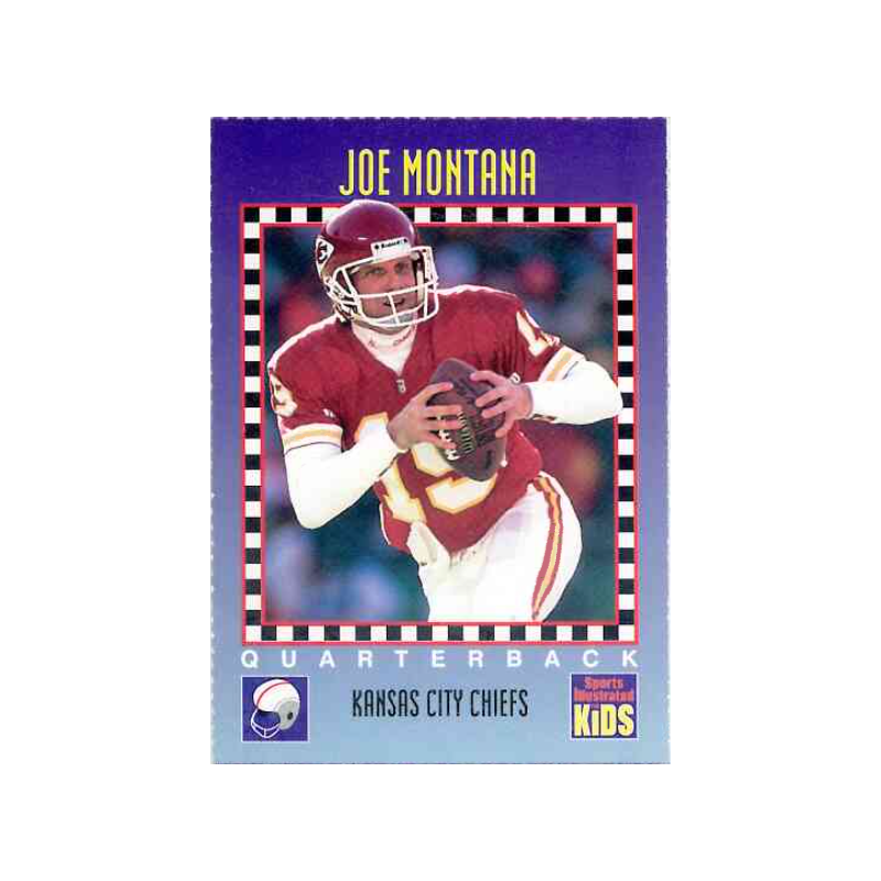 JOE MONTANA 1994 SPORTS ILLUSTRATED KIDS