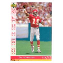 JOE MONTANA 1993 UPPER DECK