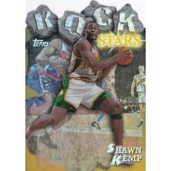 SHAWN KEMP 1997 TOPPS ROCK STAR REFRACTOR RS18