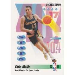 CHRIS MULLIN 1991-92 SKYBOX 301