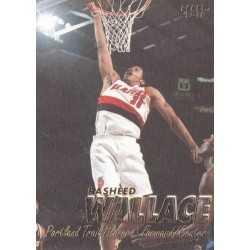 RASHEED WALLACE 1997-98 FLEER