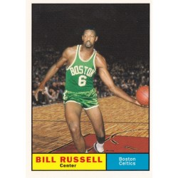 BILL RUSSELL 2007-08 TOPPS THE MISSING YEARS