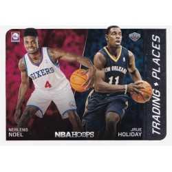 JRUE HOLLIDAY - NERLENS NOEL 2014-15 PANINI NBA HOOPS TRADING PLACES