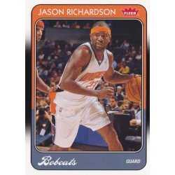 JASON RICHARDSON 2008-09 FLEER 1988-89 RETRO