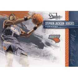 STEPHEN JACKSON 2009-10 PANINI STUDIO MASTERSTROKES