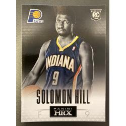 SOLOMON HILL 2013 PANINI HRX ROOKIE