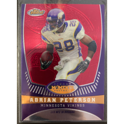 ADRIAN PETERSON 2008 TOPPS FINEST MOMENTS /629 - AP7