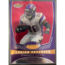 ADRIAN PETERSON 2008 TOPPS FINEST MOMENTS /629 - AP3