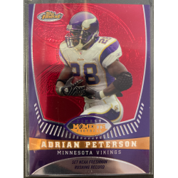 ADRIAN PETERSON 2008 TOPPS FINEST MOMENTS /629 - AP14