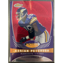 ADRIAN PETERSON 2008 TOPPS FINEST MOMENTS /629 - AP8