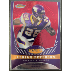 ADRIAN PETERSON 2008 TOPPS FINEST MOMENTS /629 - AP13