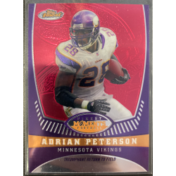 ADRIAN PETERSON 2008 TOPPS FINEST MOMENTS /629 - AP5