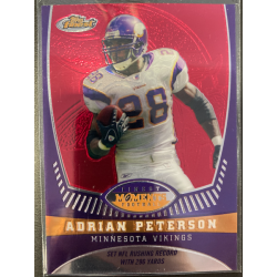 ADRIAN PETERSON 2008 TOPPS FINEST MOMENTS /629 - AP4