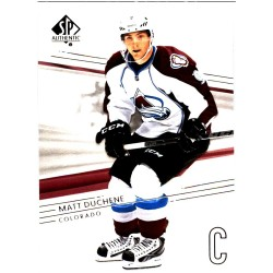 MATT DUCHENE 2014-15 SP AUTHENTIC