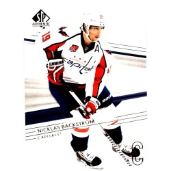 NICKLAS BACKSTROM 2014-15 SP AUTHENTIC