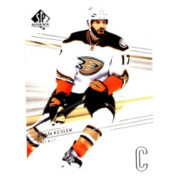 RYAN KESLER 2014-15 SP AUTHENTIC