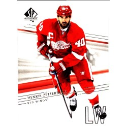 HENRIK ZETTERBERG 2014-15 SP AUTHENTIC