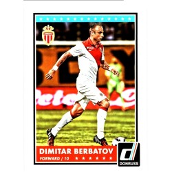 DIMITAR BERBATOV 2015 DONRUSS SOCCER