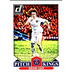 "DAVID LUIZ 2015 DONRUSS SOCCER "" PITCH KINGS """