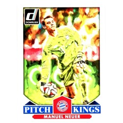 "MANUEL NEUER 2015 DONRUSS SOCCER "" PITCH KINGS """