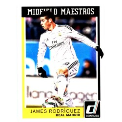 "JAMES RODRIGUEZ 2015 DONRUSS SOCCER "" MIDFIELD MAESTROS """